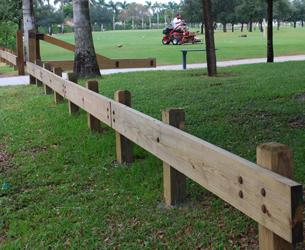 Florida Wooden Guardrail Sunshine Guardrail Corp
